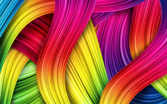Fondo De Pantalla Abstracto Flores Y Circulos: Fondo Colorido, Cuadros Abstractos HD Fondos De Pantalla