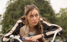 Fear The Walking Dead, Alycia Debnam Carey HD fondos de pantalla