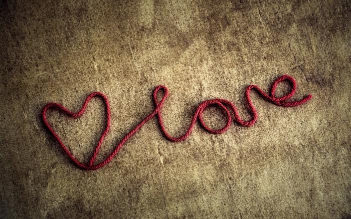 cuerda roja, corazones del amor HD fondos de pantalla amor fondo de escritorio de vista ...