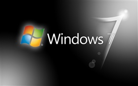 Fondo gris de Windows 7